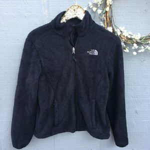 The North Face zip up fleece. Size small.